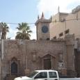 Castle facade in Beer-Sheva