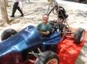 Ethelea in BGU racing car