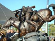 lighthorse-charge-statue