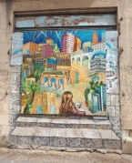 Old City murals - Yesterday,today,tomorrow - Galina Nekrasova