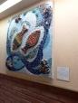 Ayelet Sela mosaic at Soroka