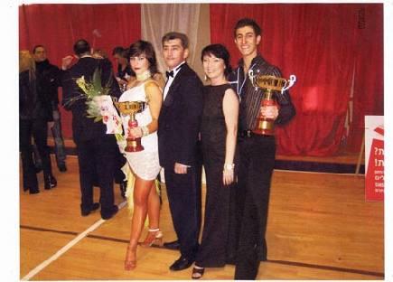 Ballroom dance champions