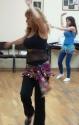 Ofrah Yifrah, belly-dancing coach