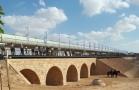 Ottoman train bridge restored