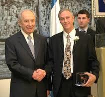 Yan Wolfson & Shimon Peres