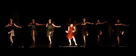 BGU Pola dance troupe