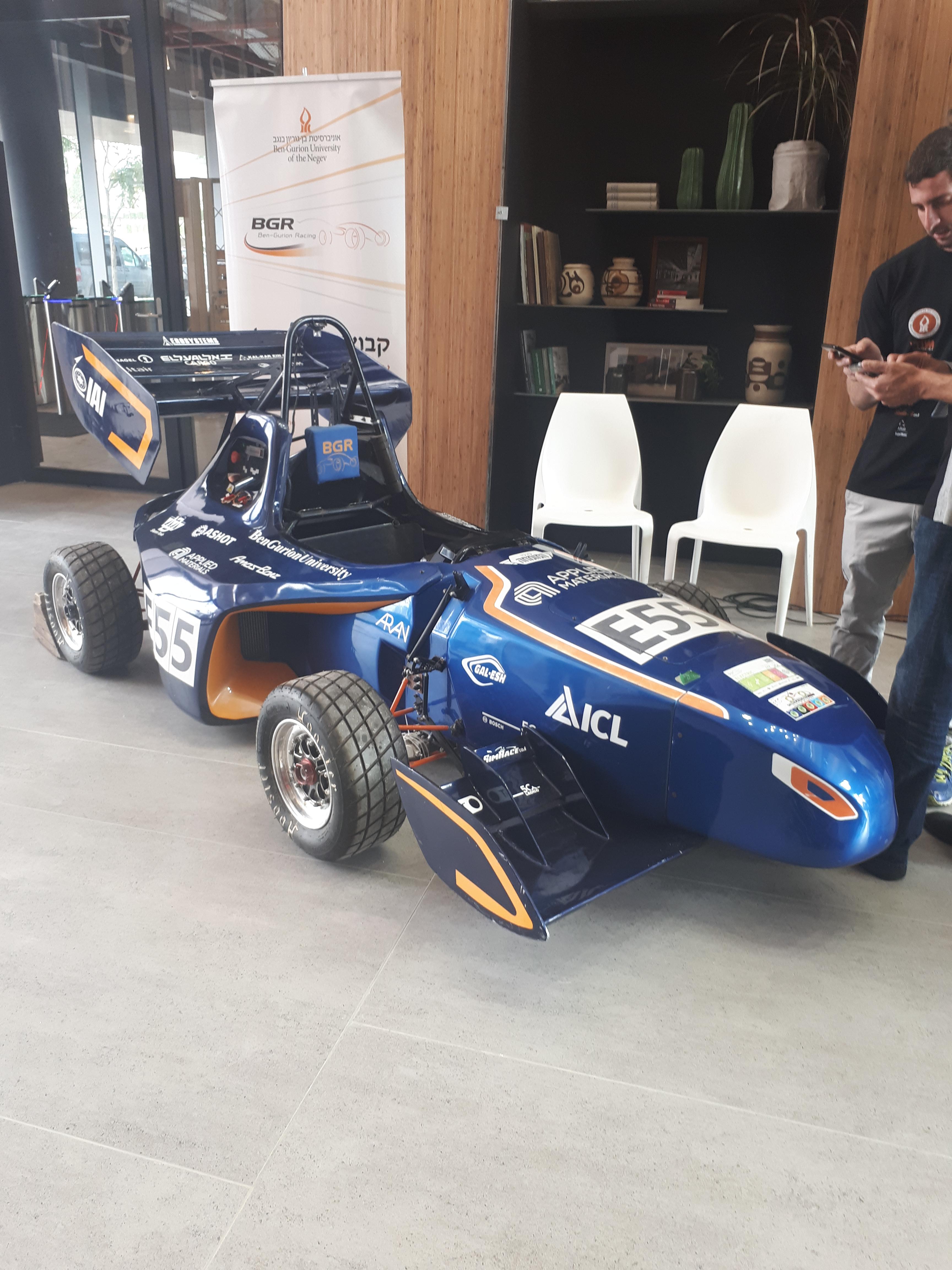 BGU racecar 2018